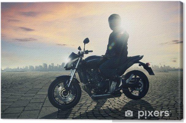 Obraz na płótnie Motocykl kierowcy - Tematy