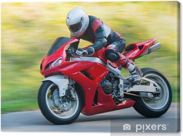 Obraz na płótnie Motocykl wyścigowy - Tematy