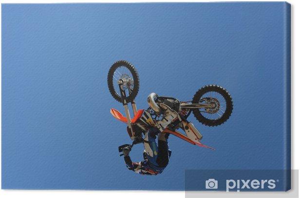 Obraz na płótnie Motocyklista - Sporty ekstremalne
