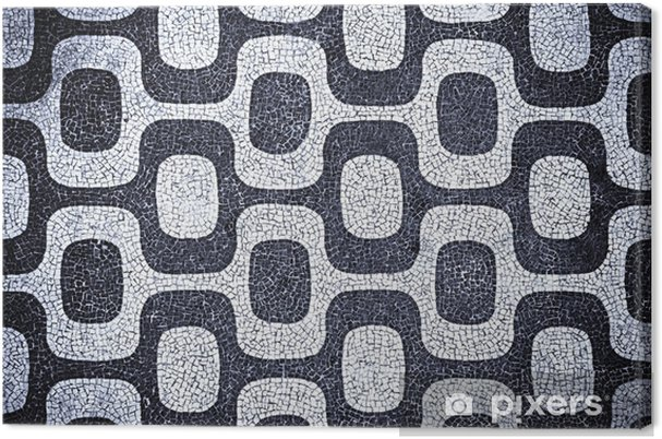 Obraz na płótnie Mozaika Ipanema - Wakacje