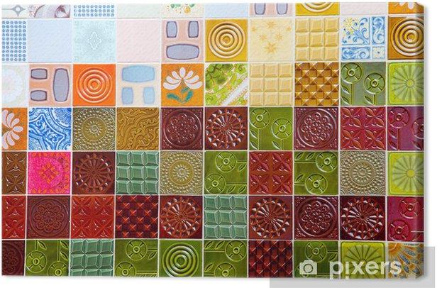 Obraz na płótnie Mozaika - Sztuka i twórczość