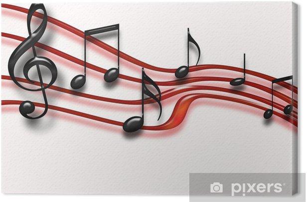 Obraz na płótnie Musical Staff - Rozrywka