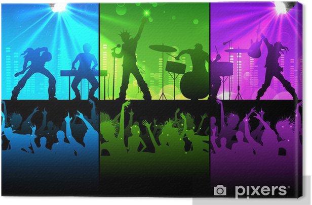 Obraz na płótnie Musical Wydajność - Rozrywka
