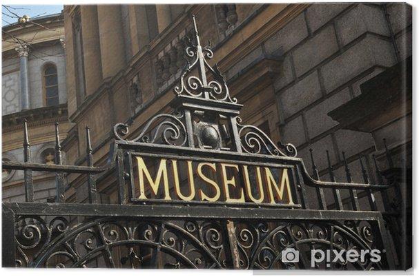 Obraz na płótnie Muzeum - Znaki i symbole