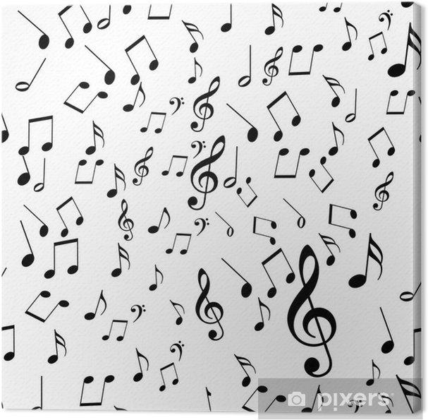 Obraz na płótnie Muzyka - Tła