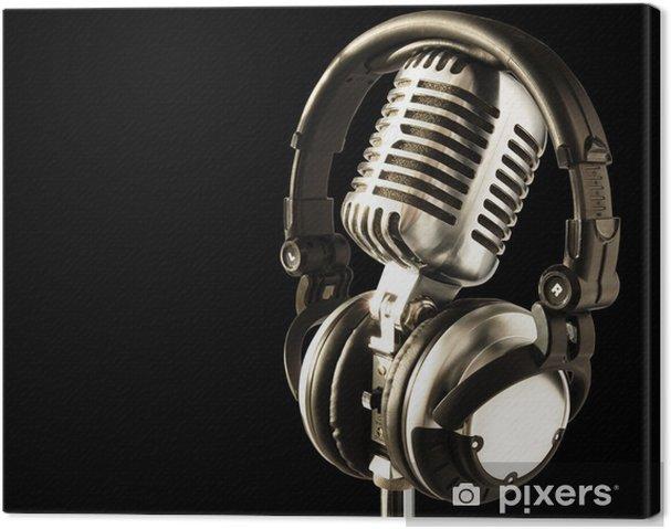 Obraz na płótnie Na antenie - Hip Hop