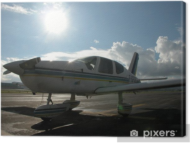Obraz na płótnie Na płaszczyźnie Tarmak - Transport powietrzny
