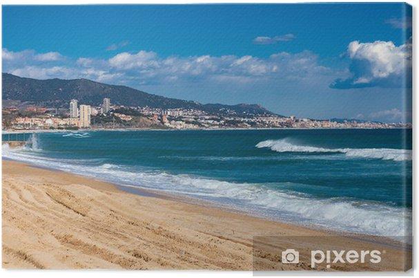 Obraz na płótnie Nad morzem, w Badalona. Katalonia - Tematy