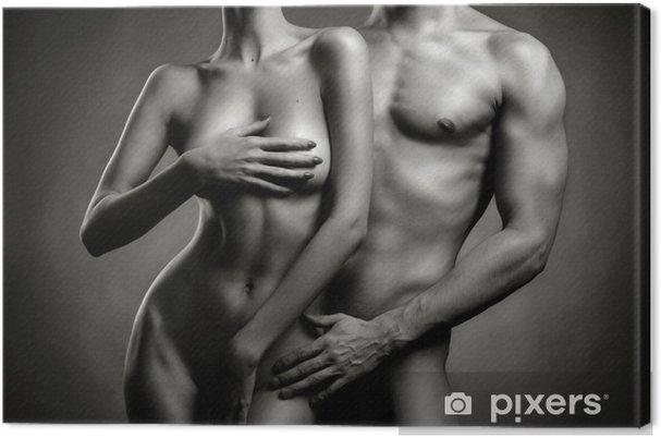 Obraz na płótnie Nagie sensual para - Nagość