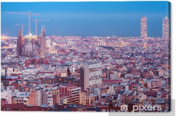 Obraz na płótnie Najlepiej noc rodzaj Barcelonie - Tematy