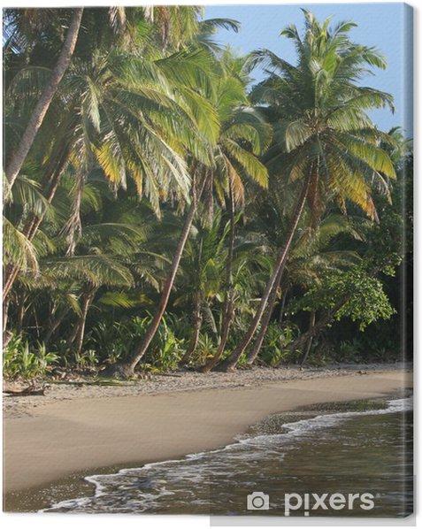 Obraz na płótnie Najpiękniejsza plaża w Dominika, Batibou plaży - Ameryka