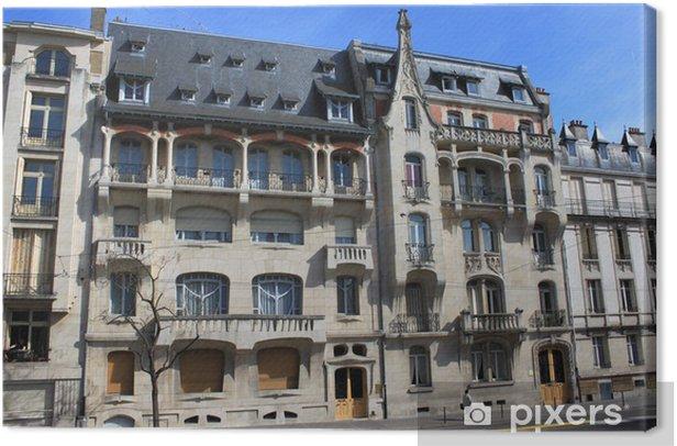 Obraz na płótnie Nancy - Budynki Art Nouveau 1902-1904 - Wakacje
