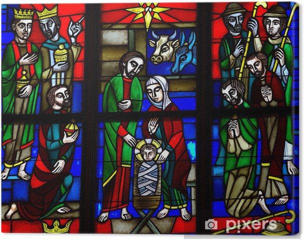 Obraz na płótnie Narodziny Jezusa: szopka - Budynki użyteczności publicznej