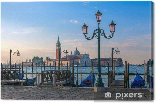 Obraz na płótnie Nasyp w Wenecji na wschodzie słońca - Europa