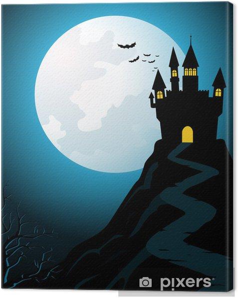 Obraz na płótnie Nawiedzony Zamek na wzgórzu - Święta międzynarodowe