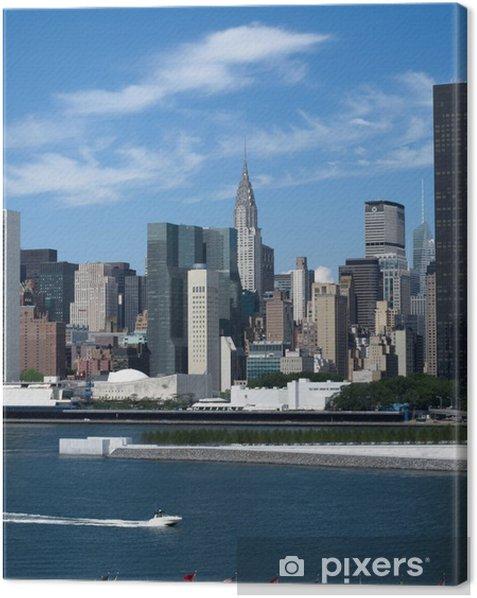 Obraz na płótnie New York City Midtown skyline-12 - Miasta amerykańskie
