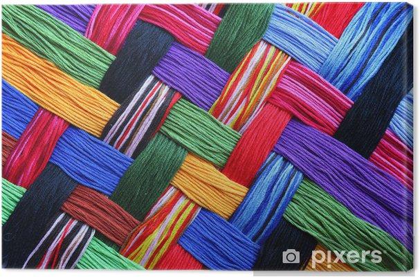 Obraz na płótnie Nici do haftowania - Tekstury