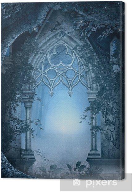 Obraz na płótnie Niebieski fragment - Tematy