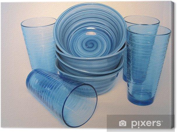 Obraz na płótnie Niebieskie naczynia - Tematy