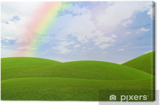 Obraz na płótnie Niebieskie niebo - Natura i dzicz