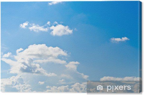 Obraz na płótnie Niebieskie niebo - Niebo
