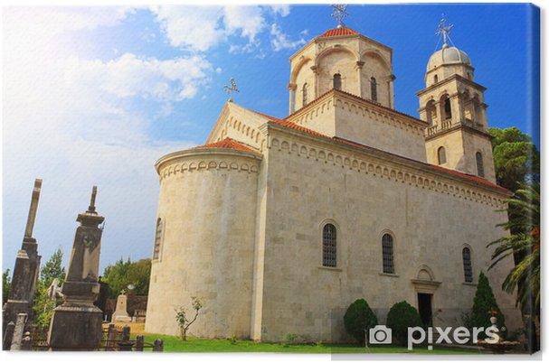 Obraz na płótnie Niesamowity widok z klasztoru Savina w Herceg Novi - Wakacje