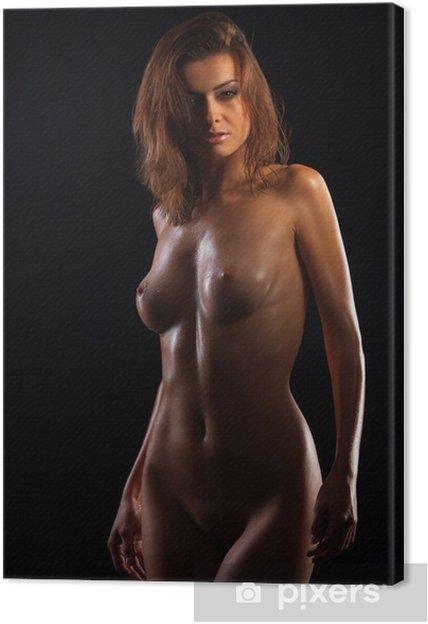 Obraz na płótnie Niski klucz zdjęcie sexy ciało kobiety - Tematy