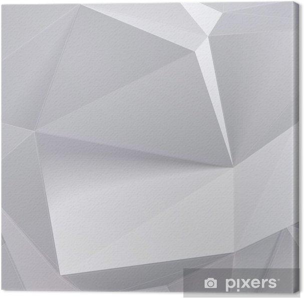Obraz na płótnie Niski kształt wielokąta geometrii. ilustracji wektorowych - Biznes