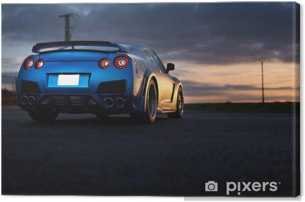Obraz na płótnie Nissan GTR - Transport drogowy