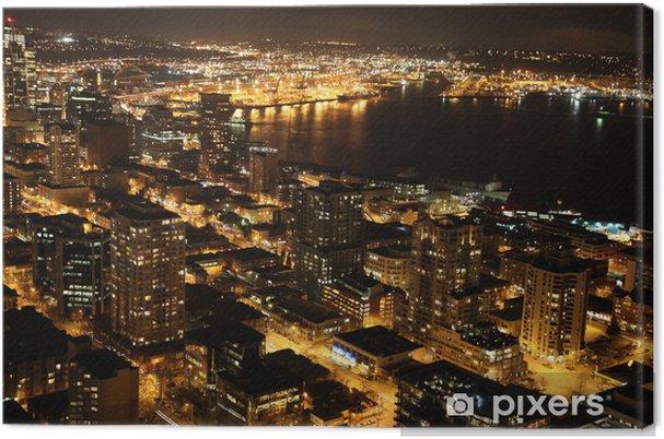 Obraz na płótnie Nocy w Seattle, USA - Tematy