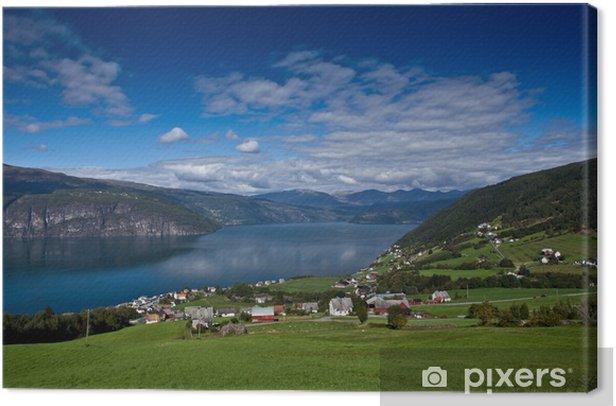 Obraz na płótnie Norwegia - region Fjord - Europa