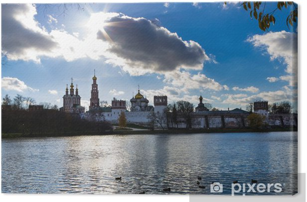 Obraz na płótnie Novodevich klasztor, Moskwa - Miasta azjatyckie