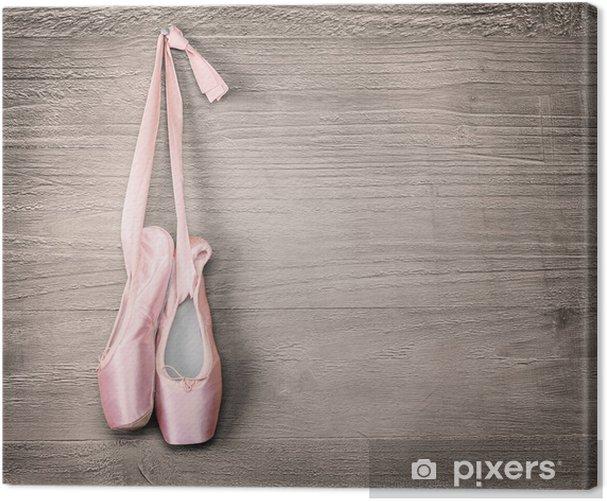 Obraz na płótnie Nowe różowe baletki - Tematy