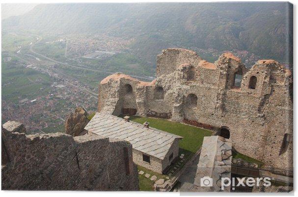 Obraz na płótnie Nowe ruiny klasztoru w Sacra di San Michele - Budynki użyteczności publicznej