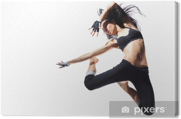 Obraz na płótnie Nowoczesnym stylu tancerz - Tematy