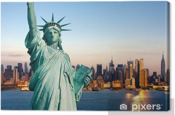 Obraz na płótnie Nowy Jork pomnik de la Liberte - Przeznaczenia