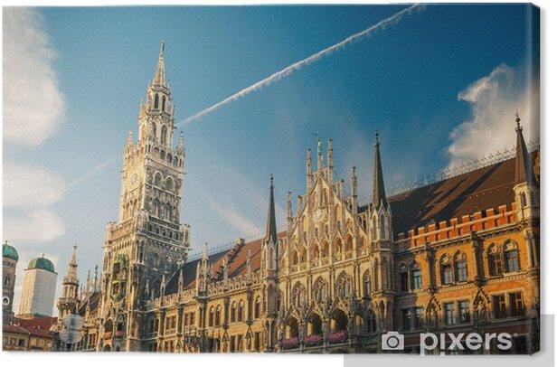 Obraz na płótnie Nowy Ratusz w Monachium - Europa