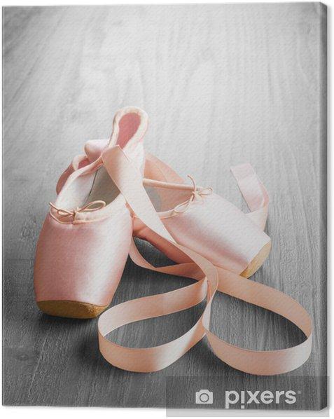 Obraz na płótnie Nowy różowy balet pointe shoes - Tematy
