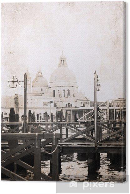 Obraz na płótnie Obraz w stylu retro, Wenecja - Miasta europejskie