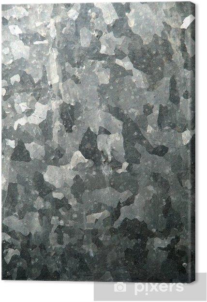Obraz na płótnie Ocynkowany h. - Tekstury
