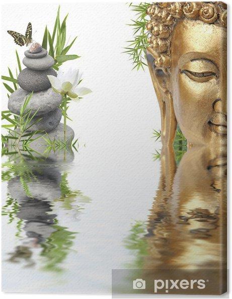 Obraz na płótnie Odbicia Buddy - Buddyzm