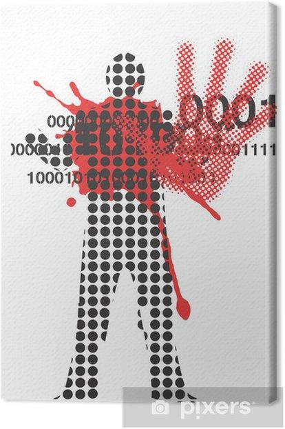 Obraz na płótnie Ofiarą przemocy - Inne uczucia