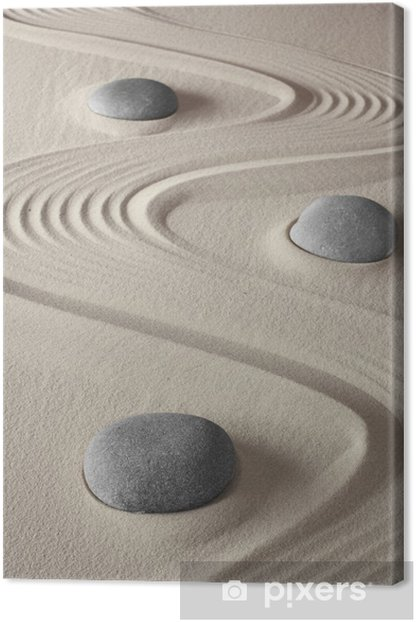 Obraz na płótnie Ogród zen - iStaging