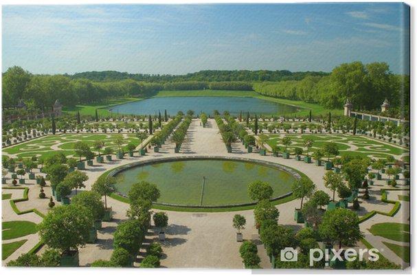 Obraz na płótnie Ogrody Wersalu - Miasta europejskie