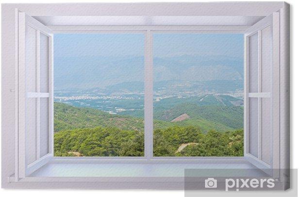 Obraz na płótnie Okno do natury - Tematy