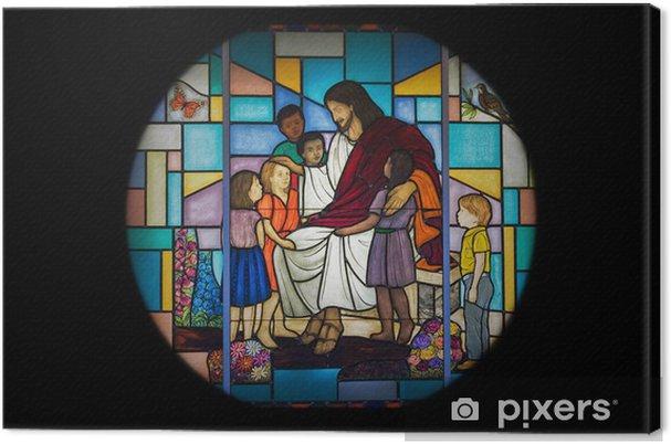 Obraz na płótnie Okno kościoła - Sztuka i twórczość