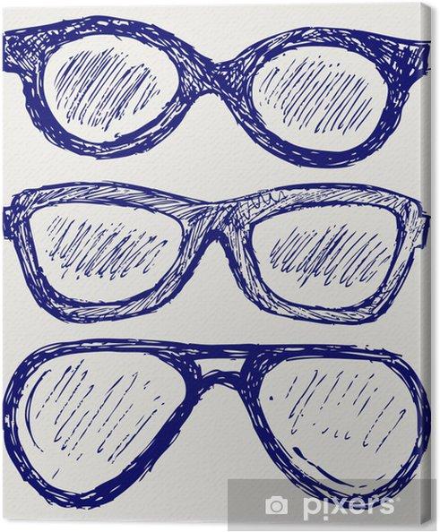Obraz na płótnie Okulary sylwetki - Uroda i pielęgnacja ciała