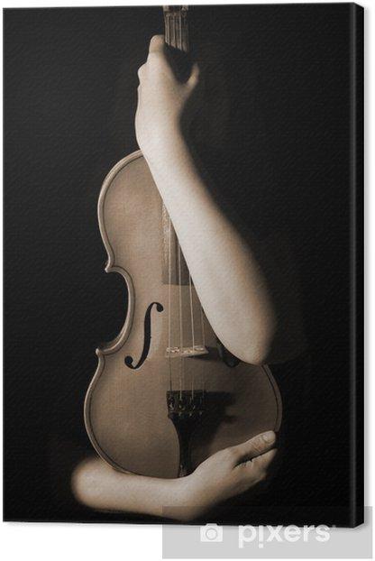 Obraz na płótnie Old Violin - Tematy