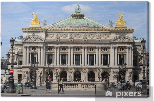 Obraz na płótnie Opera Garnier w Paryżu - Wakacje