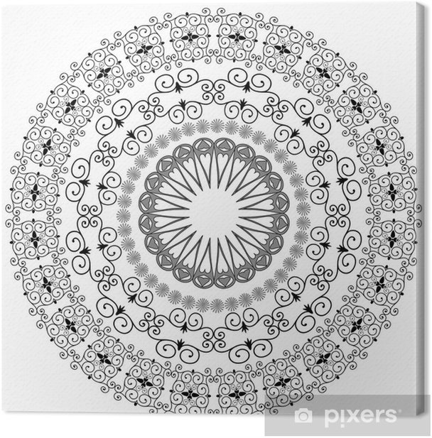 Obraz na płótnie Orientalny wzór arabeski - Sztuka i twórczość